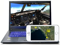 FS Earth, high quailty moving map with Flight Simulator and Google Earth