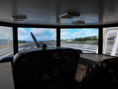 WidevieW setup with flight simulator on multiple monitors