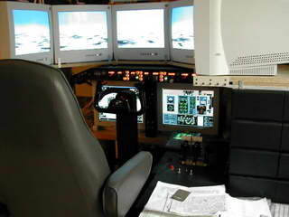 Cockpit for Flight Simulator and MDMAX MD-80