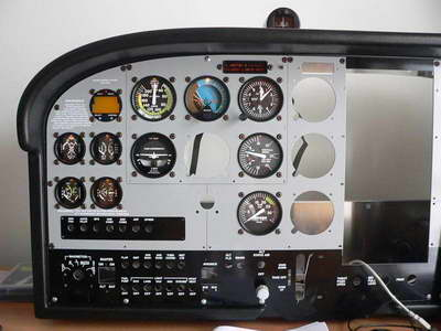 Cessna C-182 RG real cockpit for Flight Simulator