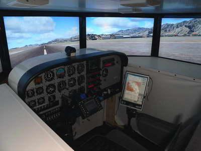 Cessna C 182 Rg Real Cockpit For Flight Simulator