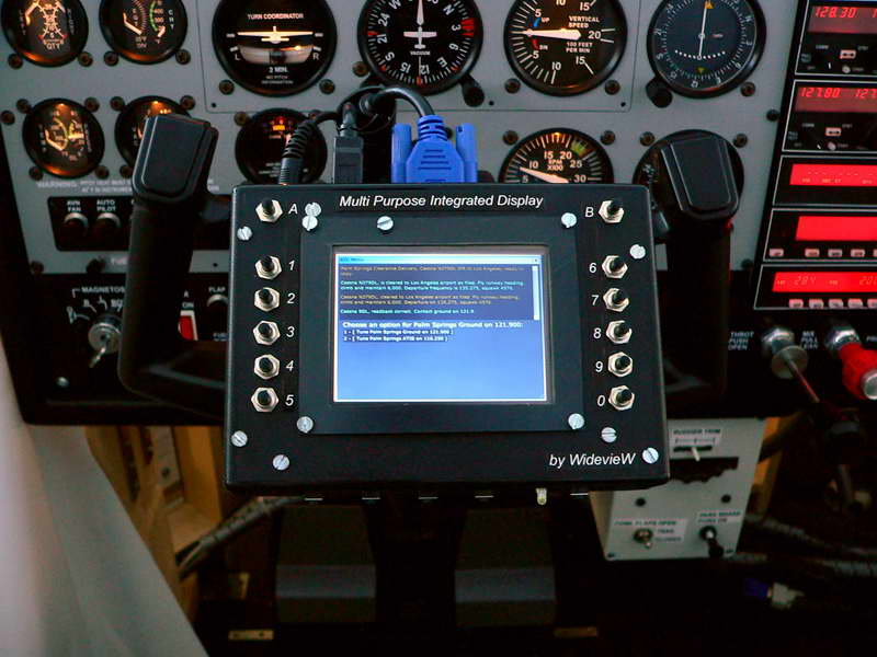 MPID or Multi Purpose Integrated Display for ATC interface