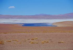 Altipiano sulle Ande in Bolivia