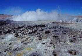 Gesyr in Bolivia a 5000m